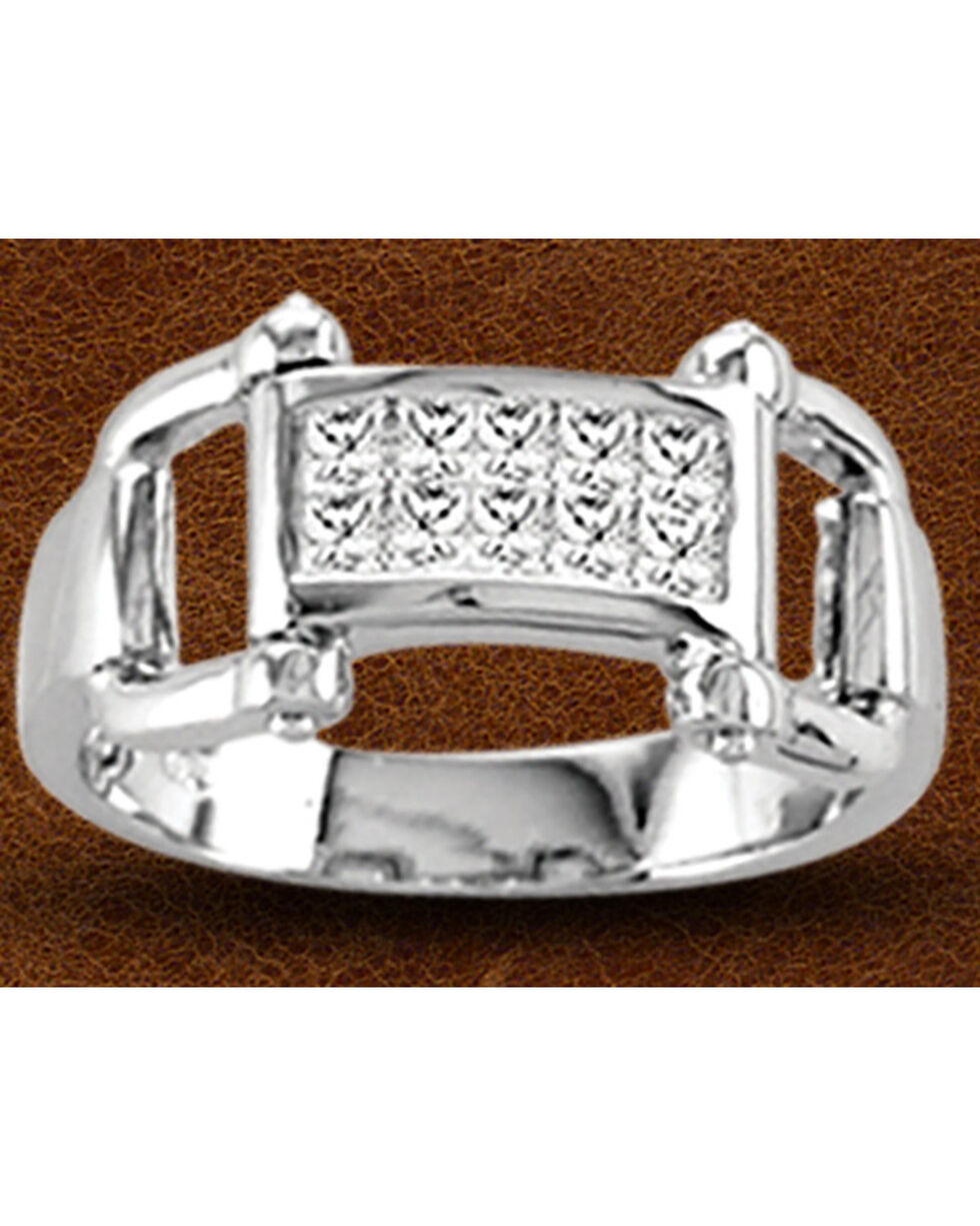 Kelly Herd Sterling Silver Bit Ring , Silver, hi-res