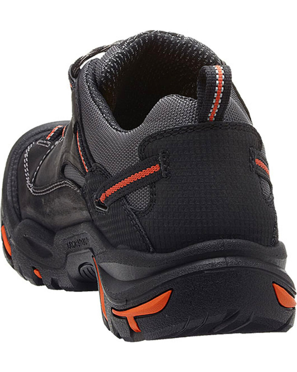 Keen Men's Braddock Low EH Shoes, Black, hi-res