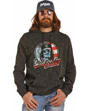 Dale Brisby Men's Black Patriotic Hoodie , Black, hi-res