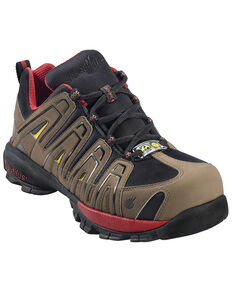 Nautilus Men's Composite Toe ESD Athletic Shoes, Olive, hi-res