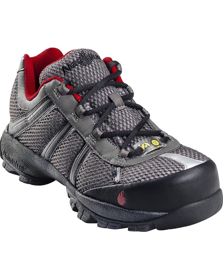 Nautilus Men's Steel Toe ESD Athletic Shoes, Grey, hi-res