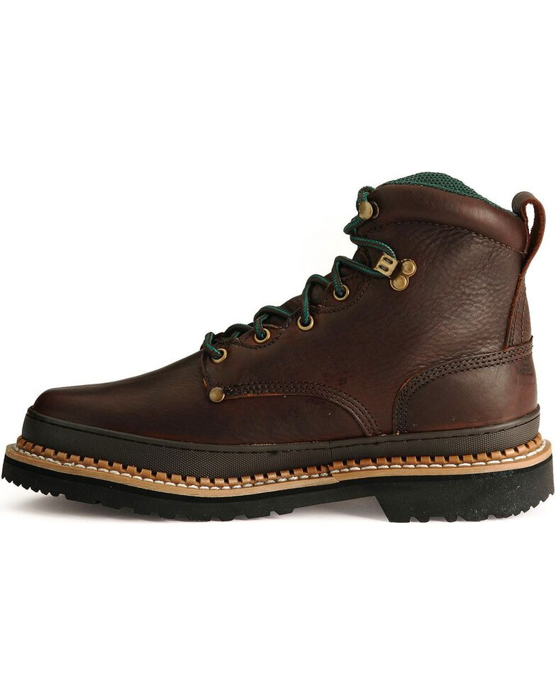 Georgia Men's Giant Work Boots, Brown, hi-res