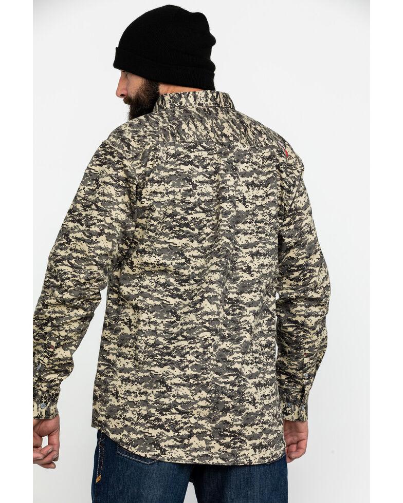 Ariat Men's FR Patriot Camo Long Sleeve Work Shirt - Big , Camouflage, hi-res