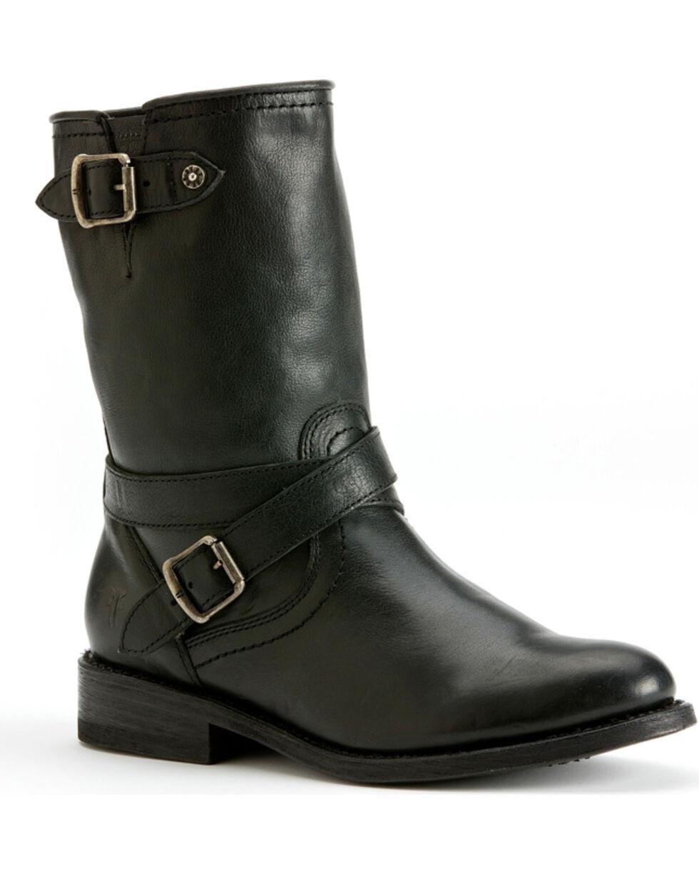 Frye Women's Jayden Cross Engineer Boots, Black, hi-res