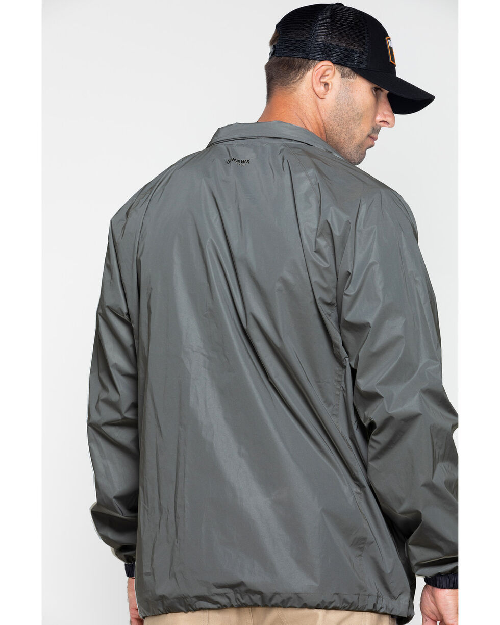 Hawx® Men's Reflective Work Jacket , Silver, hi-res