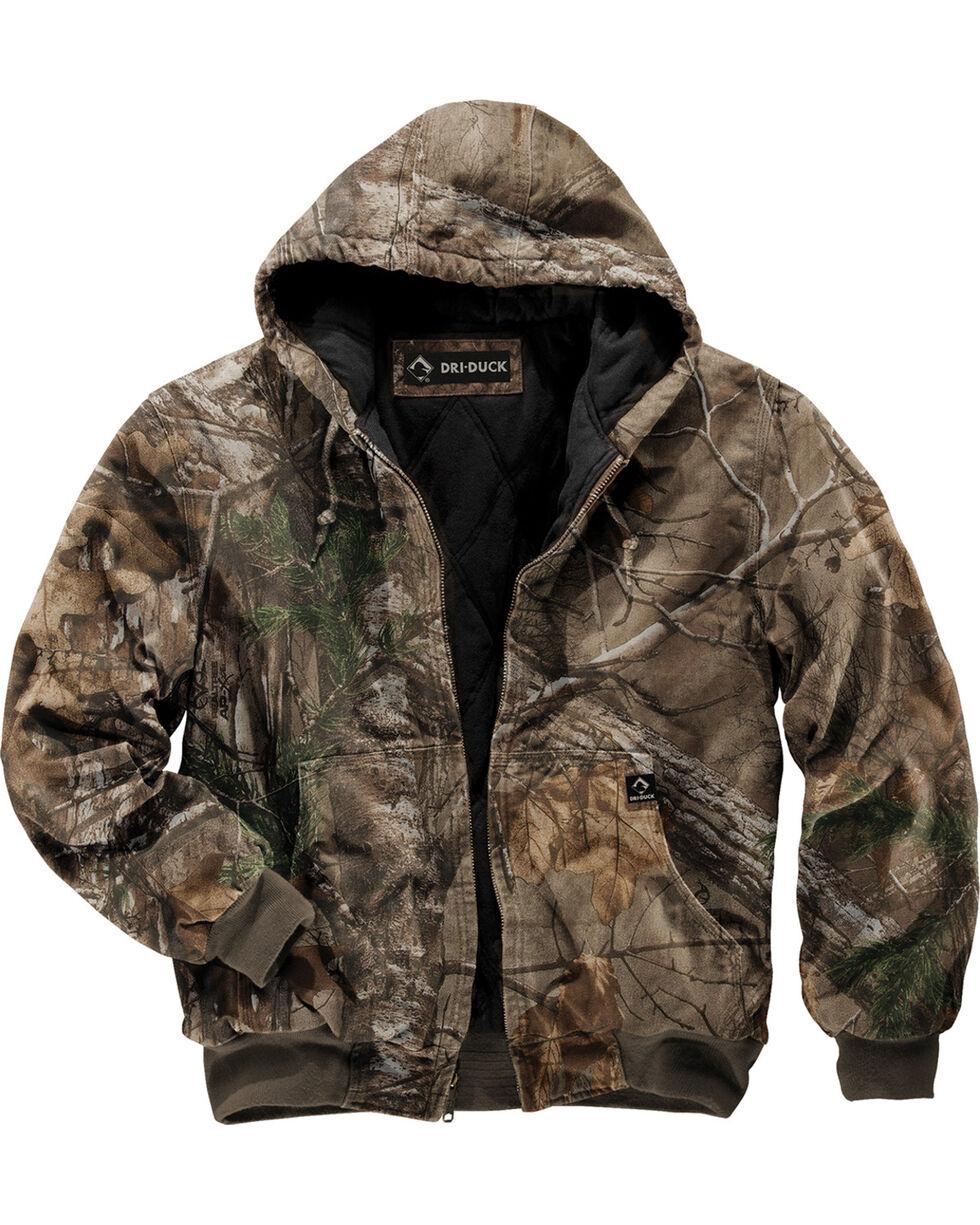 Dri Duck Men's Cheyenne Realtree Xtra Camo Hooded Work Jacket - Tall (XLT - 2XLT), Camouflage, hi-res