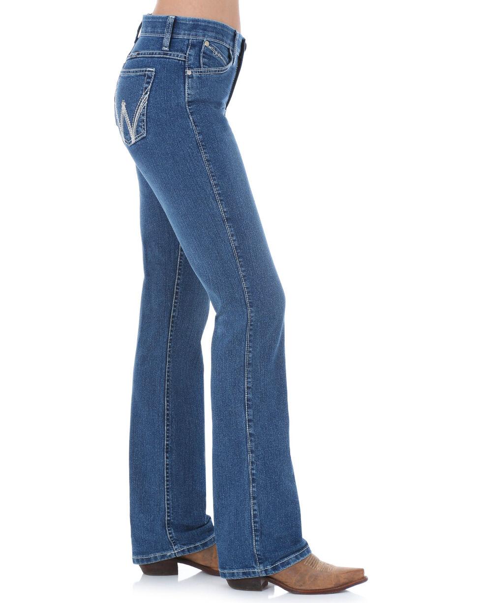 Wrangler Women's Q-Baby Cool Vantage Ultimate Riding Jeans, Denim, hi-res