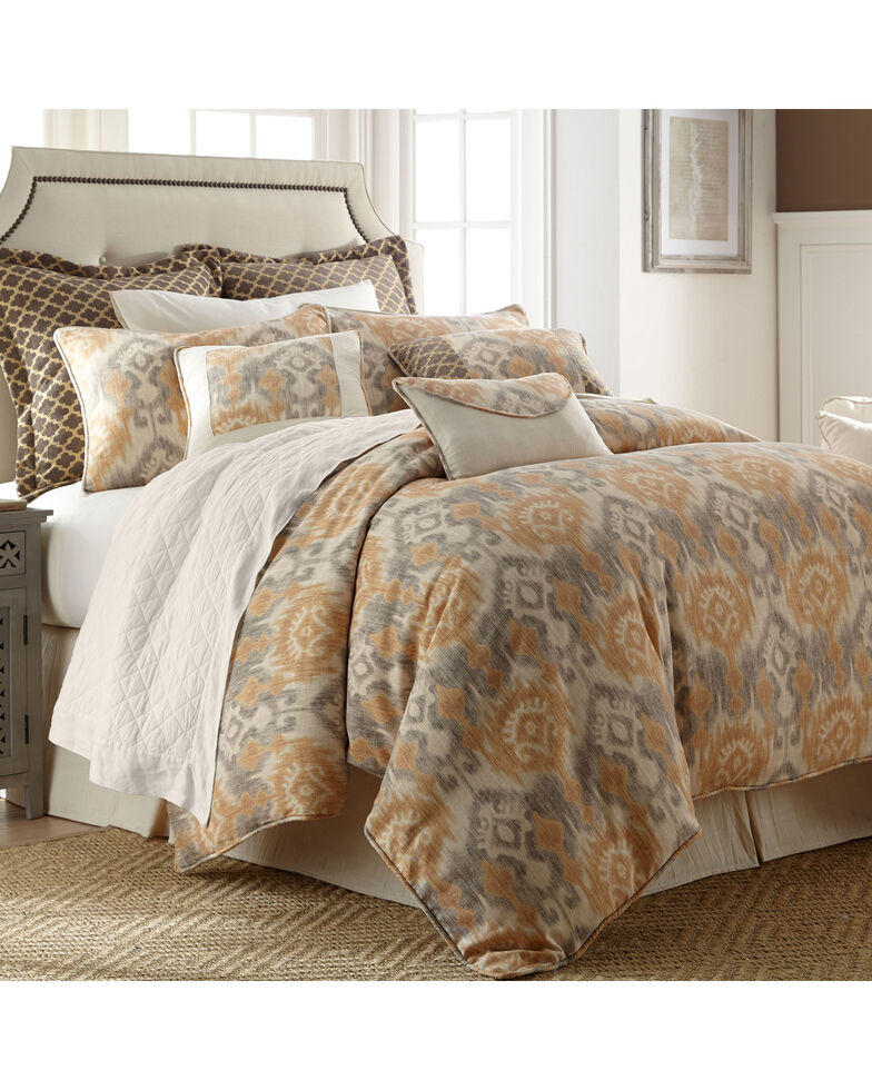 HiEnd Accents Casablanca 4-Piece Bedding Set, Super Queen, Multi, hi-res