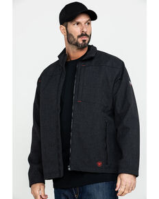 Ariat Men's Black FR Vernon Jacket - Big , Black, hi-res