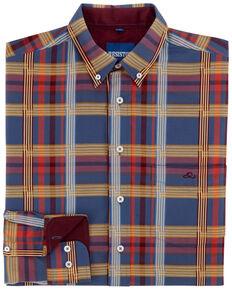 e03484e8 Resistol Men's Estill Plaid Long Sleeve Western Shirt
