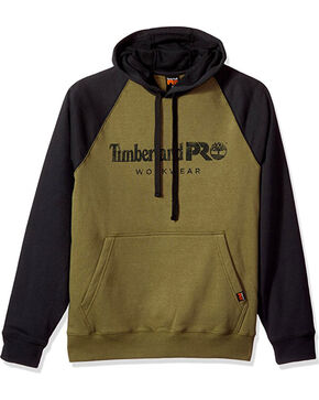 Timberland Pro Men's Olive Honcho Sport Pullover Hoodie , Black, hi-res