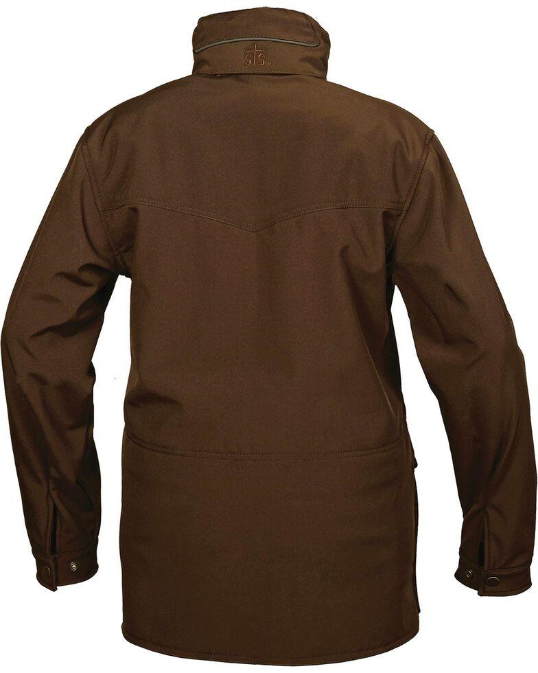 STS Ranchwear Men's Brazos Brown Jacket - Big & Tall , Brown, hi-res