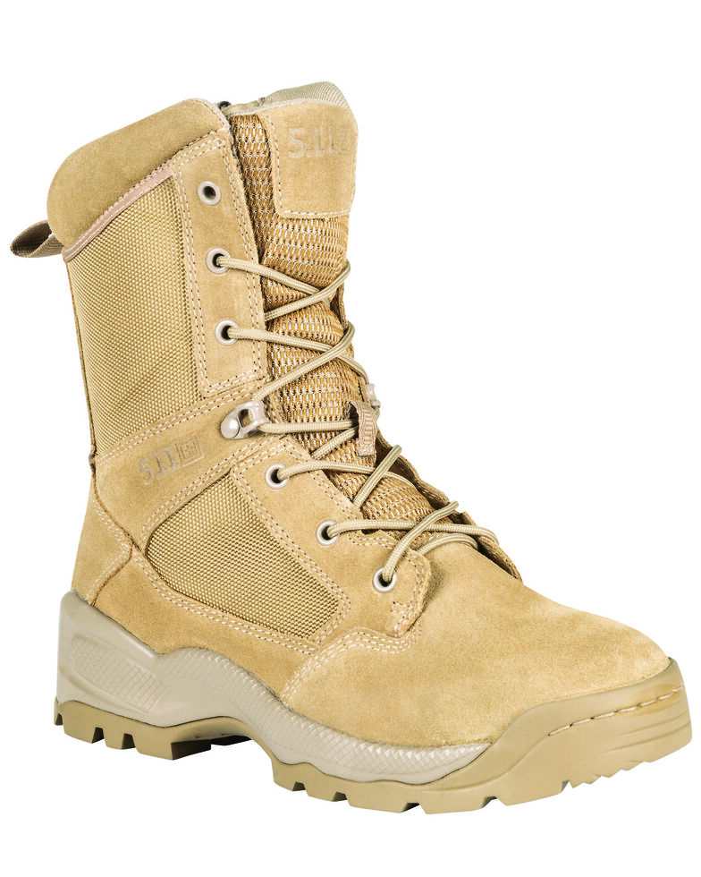 "5.11 Tactical Men's A.T.A.C 2.0.8"" ARID Boots, Coyote, hi-res"