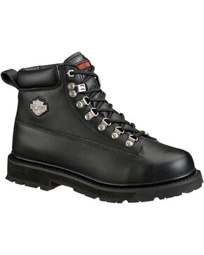 Harley-Davidson Men's Drive Steel Toe Safety Boots, Black, hi-res