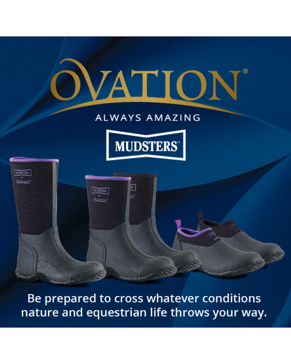 Ovation Women's Mudster Barn Shoes, Blk Multi, hi-res