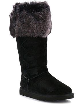 UGG® Women's Rosana Tall Boots, Black, hi-res