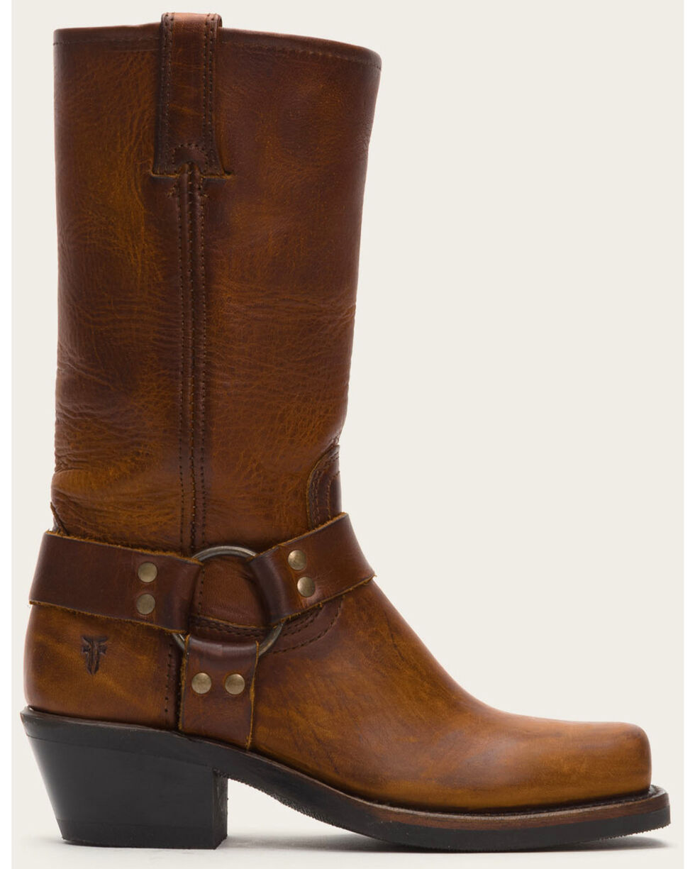 Frye Women's Harness 12R Boots - Square Toe, Cognac, hi-res