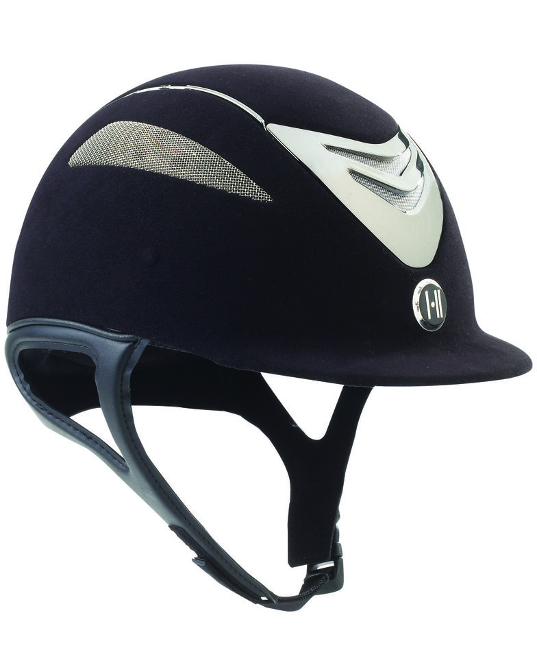 One K Defender Suede Helmet, Black, hi-res