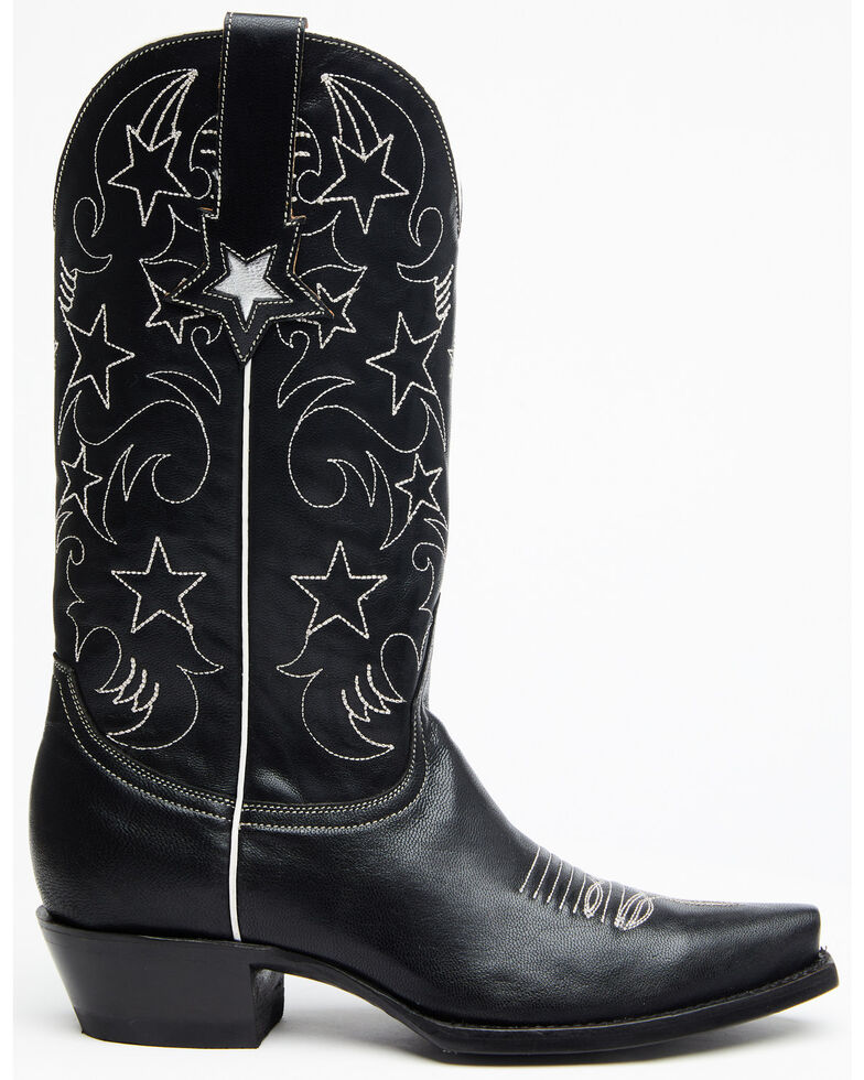 Idyllwind Women's Starstruck Western Boots - Snip Toe, Black, hi-res