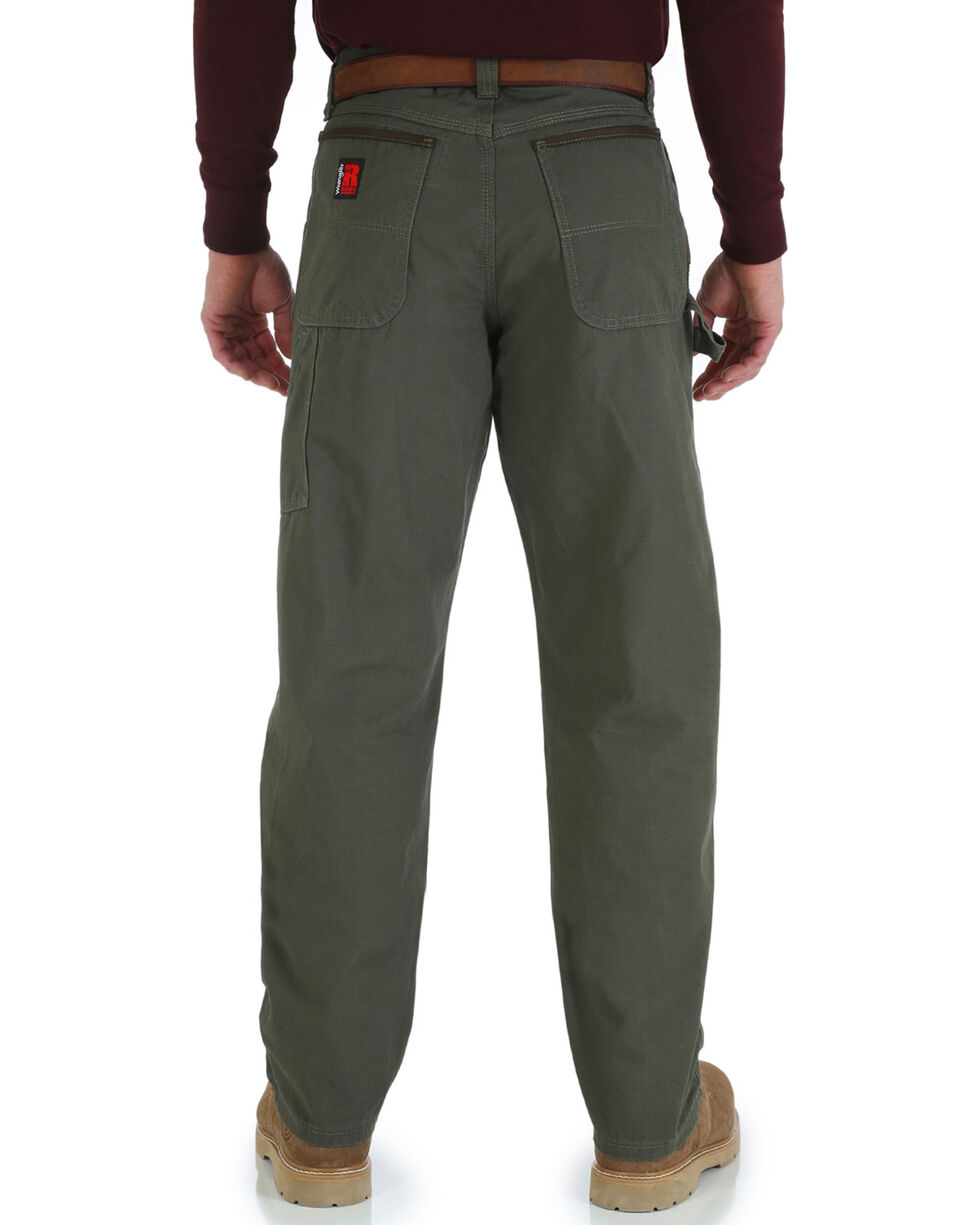 Wrangler Men's Riggs Carpenter Work Pants, Loden, hi-res