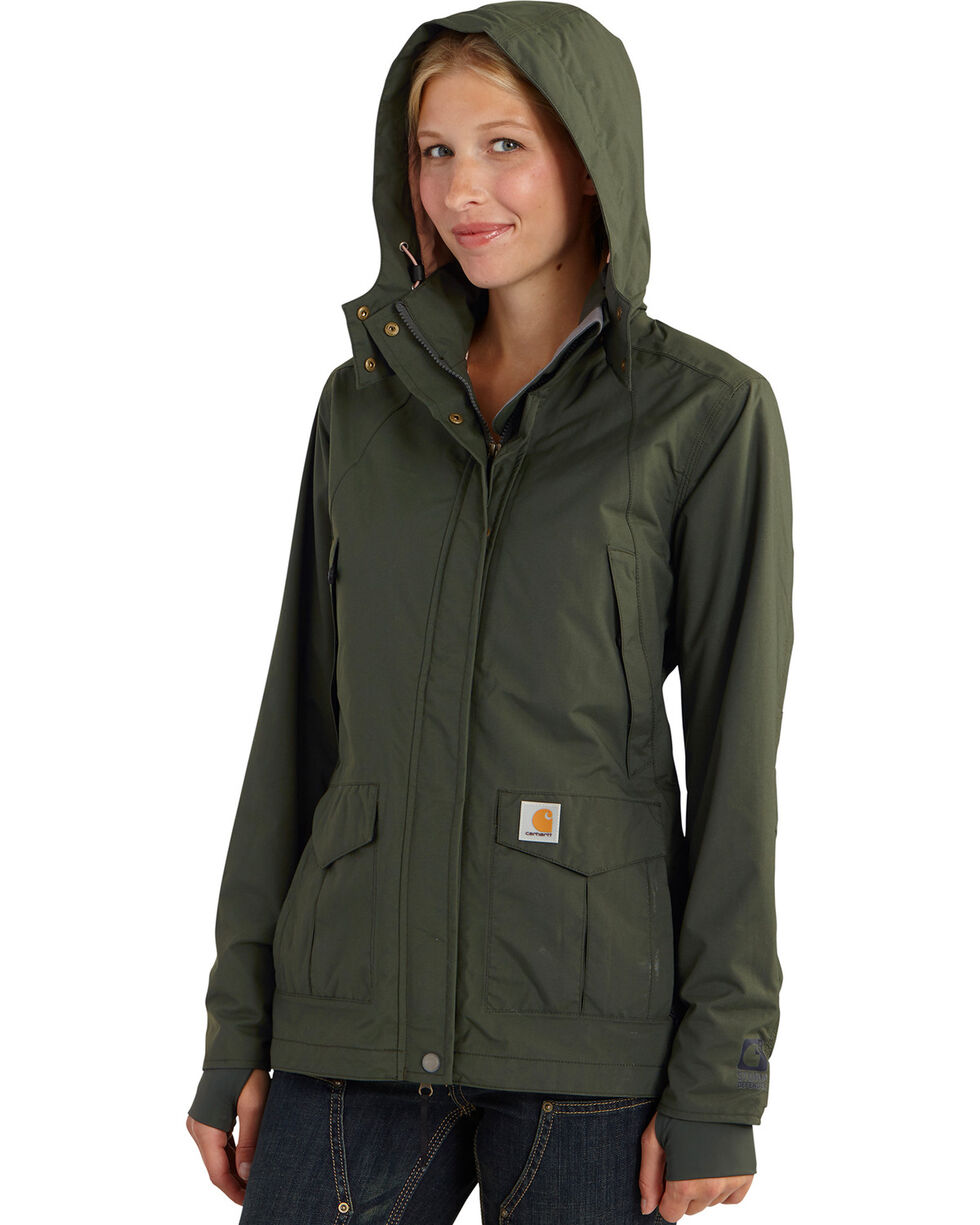 Carhartt Women's Shoreline Jacket, Olive, hi-res