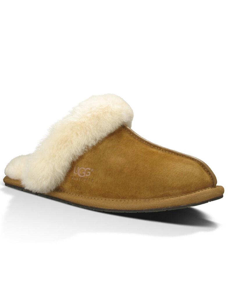 UGG Women's Chestnut Scuffette Slippers, Chestnut, hi-res