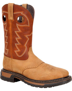 Men S Rocky Work Boots Boot Barn