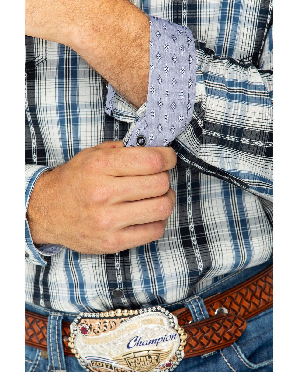 Moonshine Spirit Men's Dispatch Check Button Shirt , Blue, hi-res