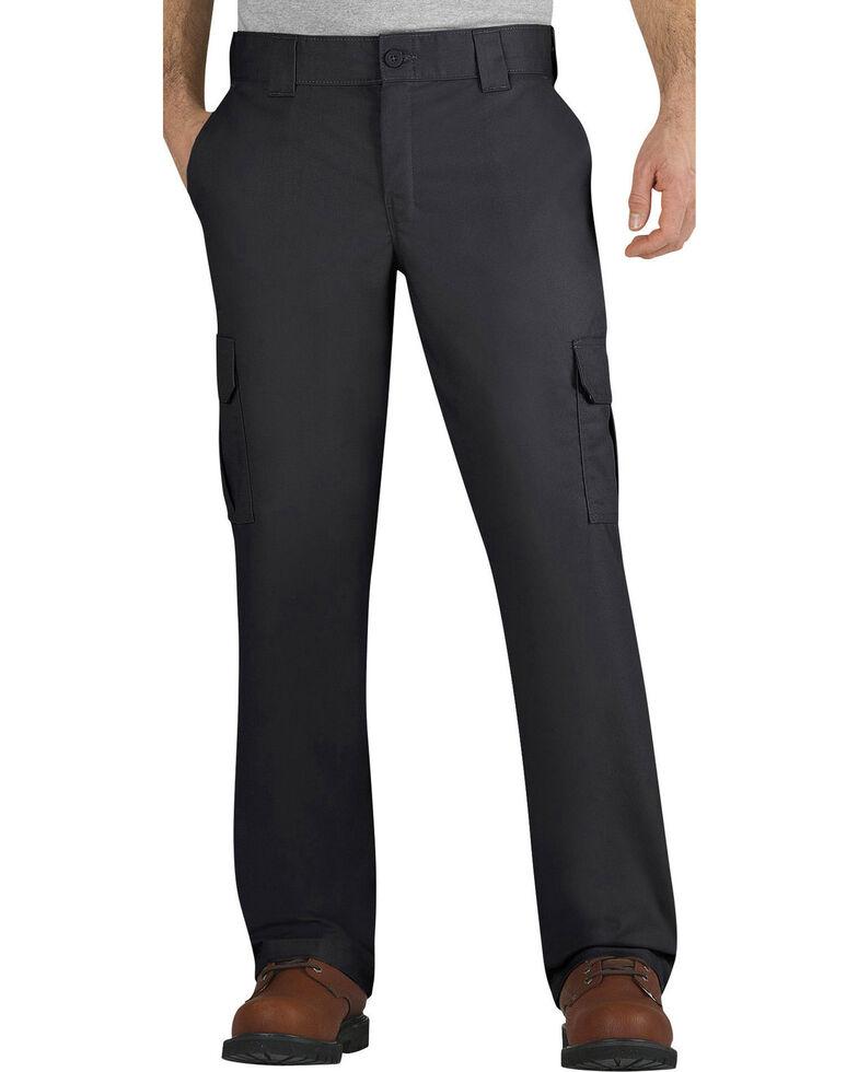 Dickies Men's FLEX Regular Fit Straight Leg Cargo Pants - Big & Tall, Black, hi-res