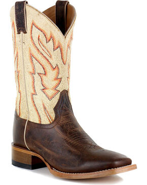 Cody James® Men's Vaquero Bone Western Boots, Brown, hi-res
