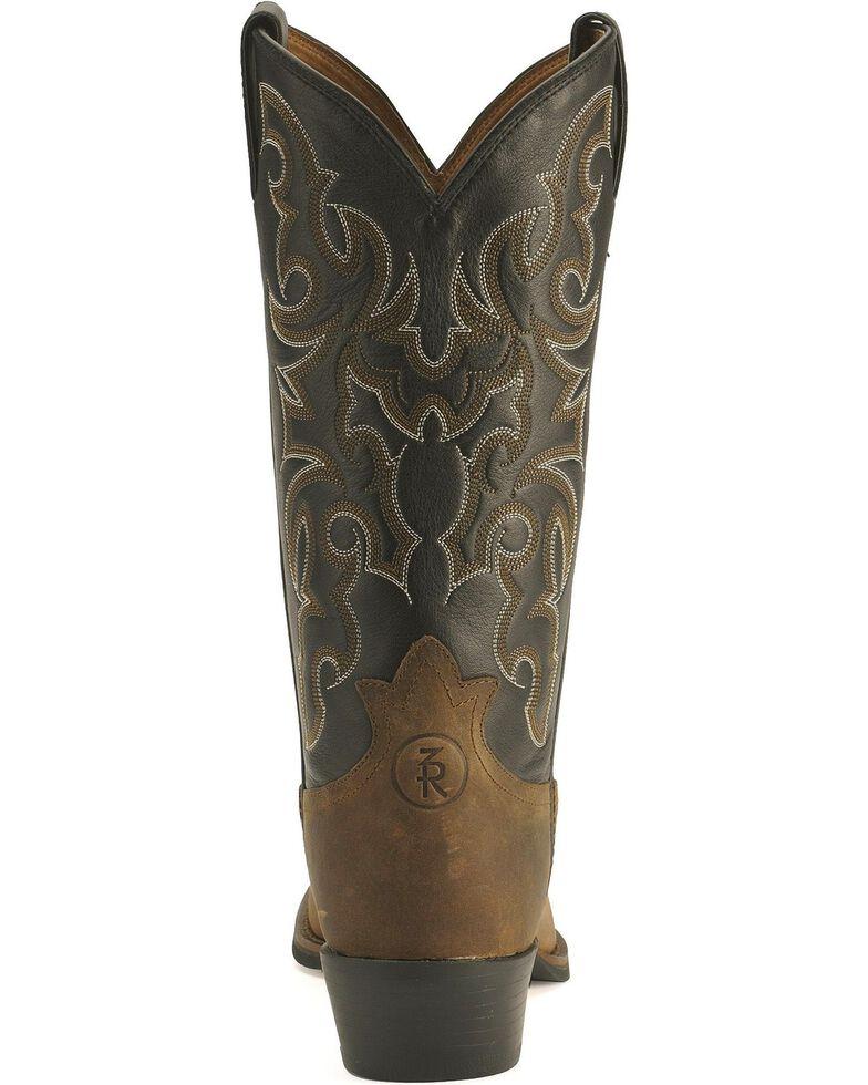 Tony Lama Men's Ranchin' Ropin' Ridin' 3R Western Boots, Walnut, hi-res