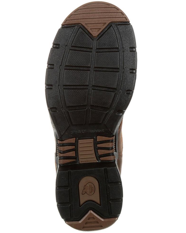 Georgia Boot Men's Athens Work Boots - Steel Toe, Dark Brown, hi-res