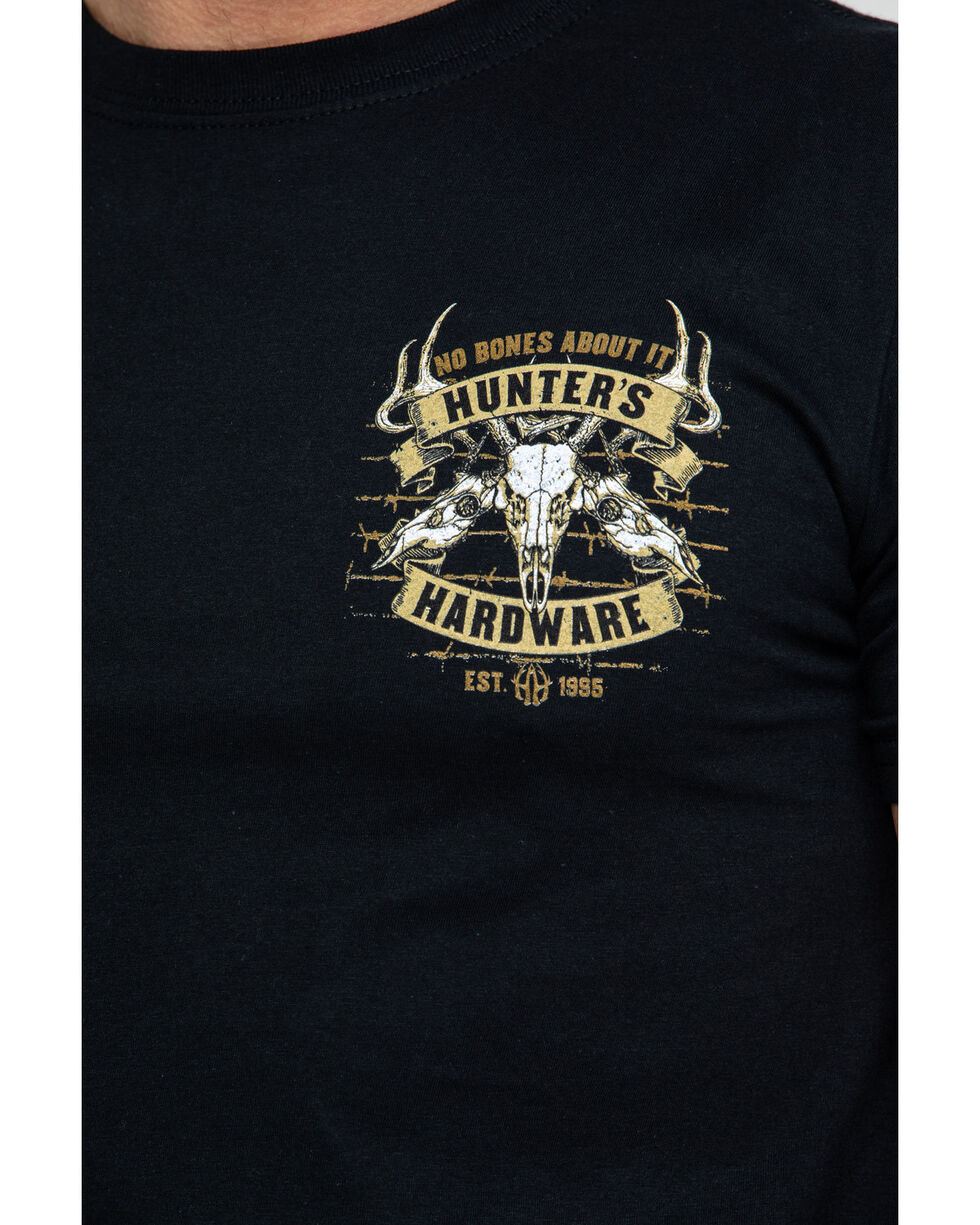 Cowboy Hardware Men's No Bones About It Graphic T-Shirt , Black, hi-res