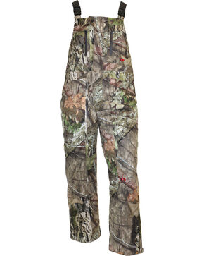 10X Mossy Oak Silent Quest Insulated Scentrex Bib, Moss, hi-res
