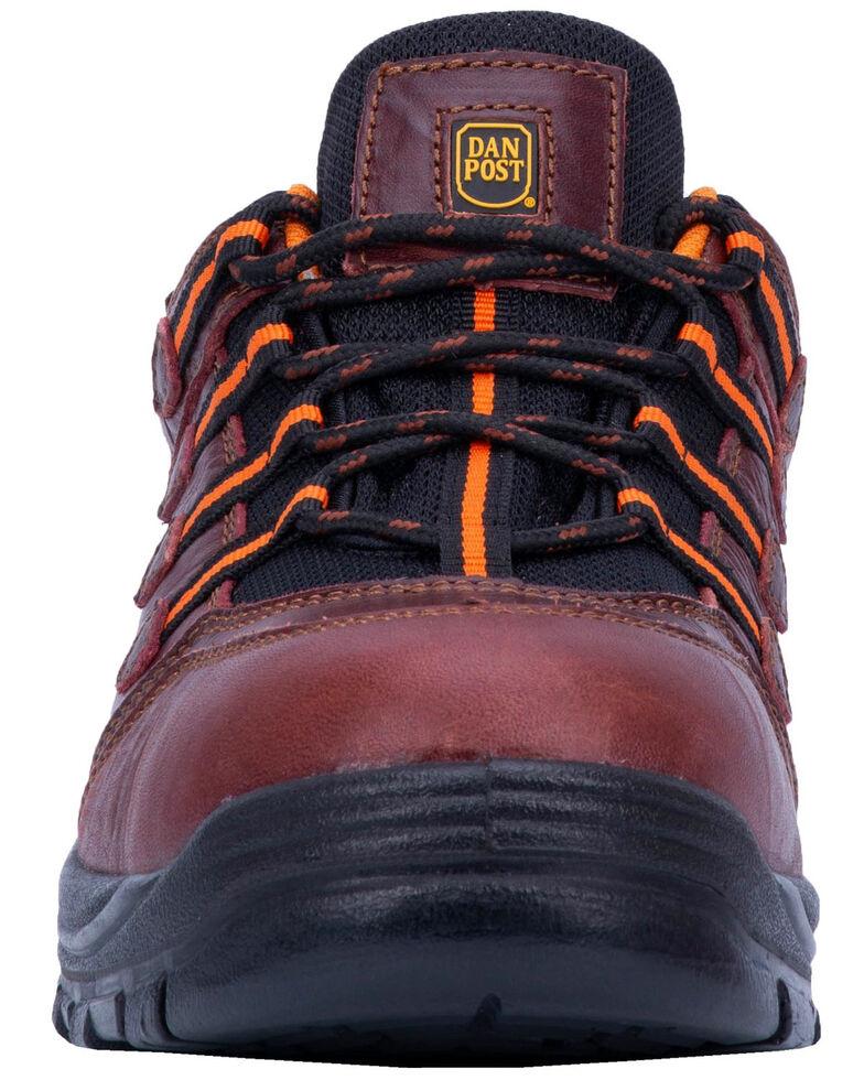 Dan Post Men's Blue Ridge Hiker Shoes - Composite Toe, Red, hi-res