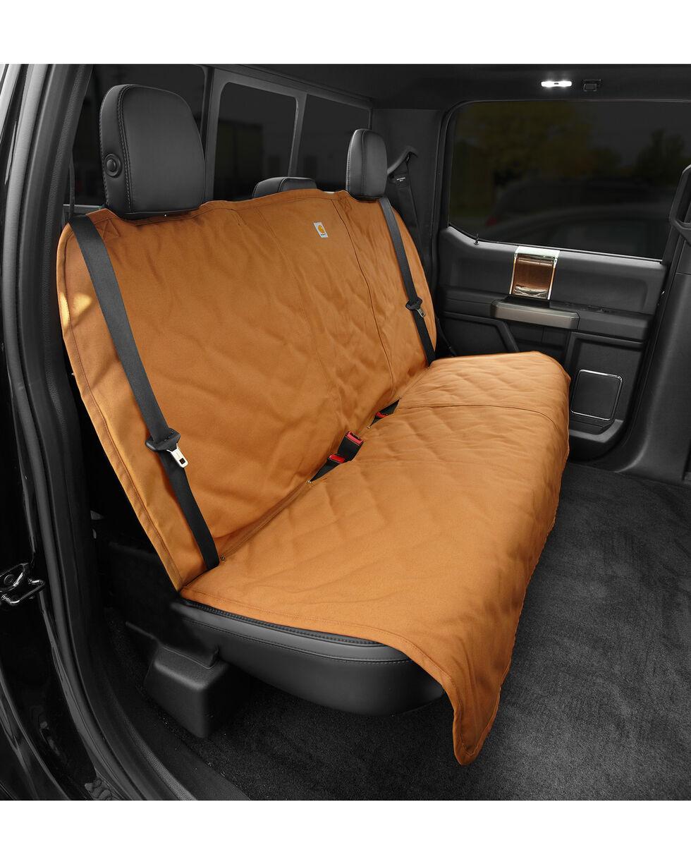 Carhartt Pecan Dog Seat Cover, Pecan, hi-res