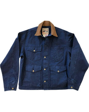 Schaefer Outfitter Men's Indigo Vintage Brush Jacket - 3XL, Indigo, hi-res