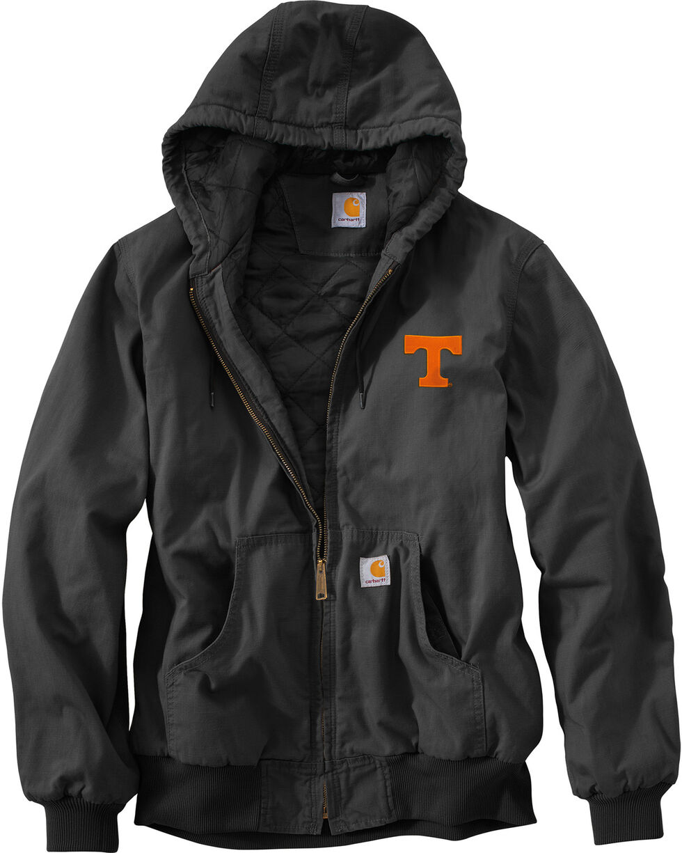 Carhartt Men's Tennessee Ripstop Active Jacket, Black, hi-res
