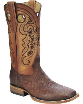 Corral Men's Shark Vamp Exotic Boots, Tan, hi-res