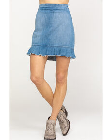Show Me Your Mumu Women's Kai Skirt, Blue, hi-res