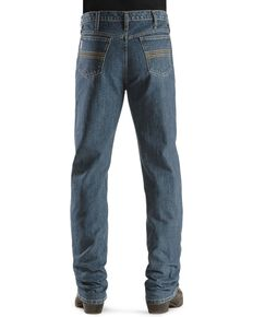Cinch Men's Silver Label Slim Fit Jeans, Indigo, hi-res