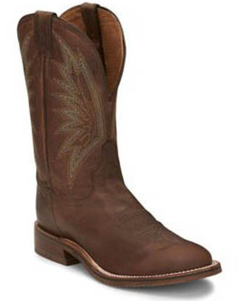 Tony Lama Men's Conner Tobacco Western Boots - Round Toe, Brown, hi-res