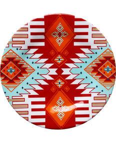 HiEnd Accent Multi Southwest Four-Piece Melamine Dinner Plate, Multi, hi-res