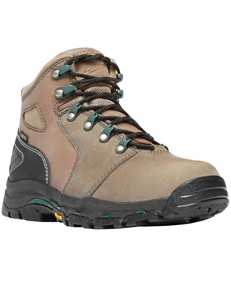 Danner Women's Tan Vicious Waterproof Boots - Composite Toe , Multi, hi-res