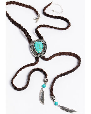 Idyllwind Women's Bandit Bolo Necklace, Turquoise, hi-res