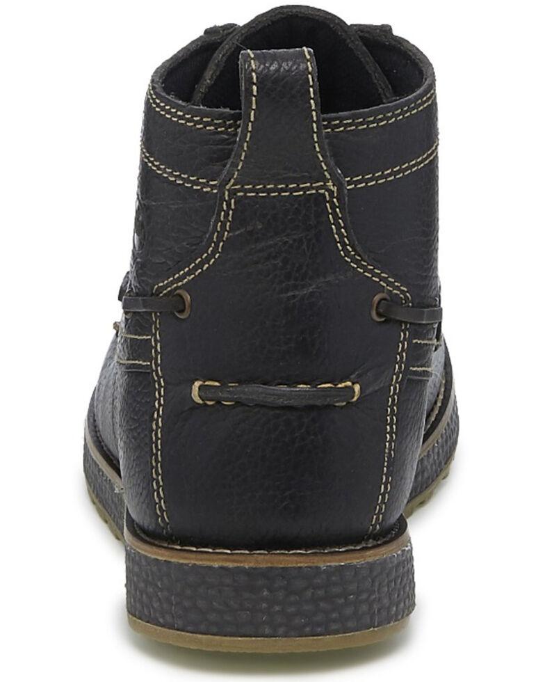 Justin Men's Charcoal Solace Boots - Moc Toe, Charcoal, hi-res