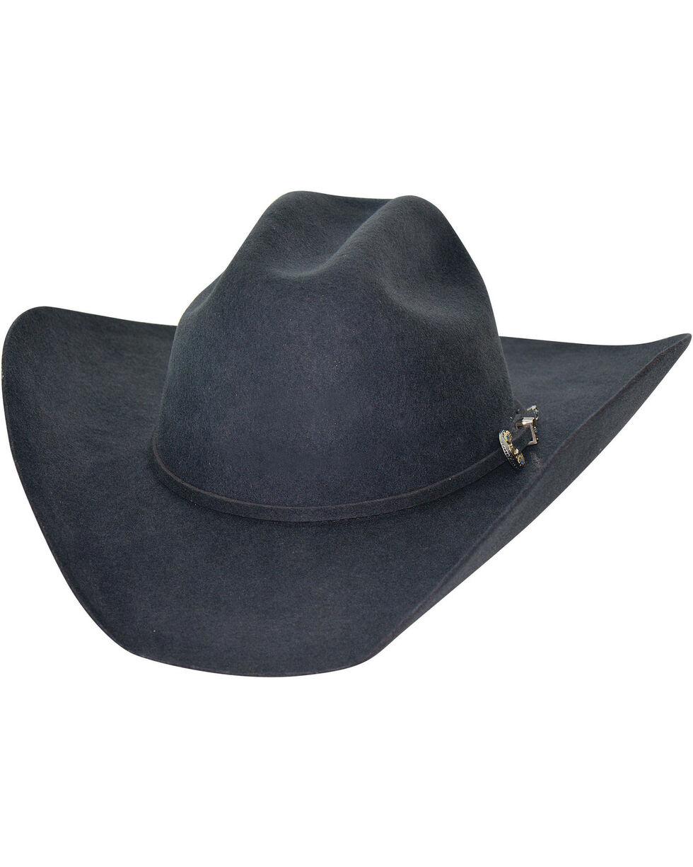 Bullhide Kingman 4X Felt Cowboy Hat , Grey, hi-res