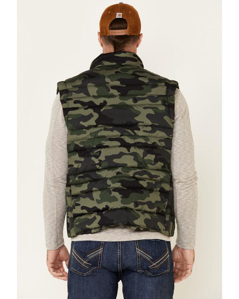 Flag & Anthem Men's Green Erieville Camo Print Puffer Vest , Green, hi-res