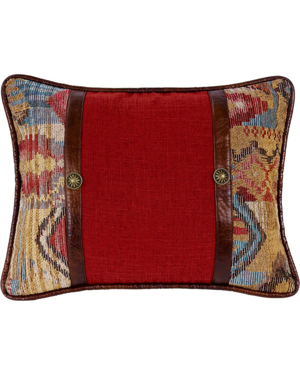 HiEnd Accents Ruidoso Oblong Concho Throw Pillow, Multi, hi-res