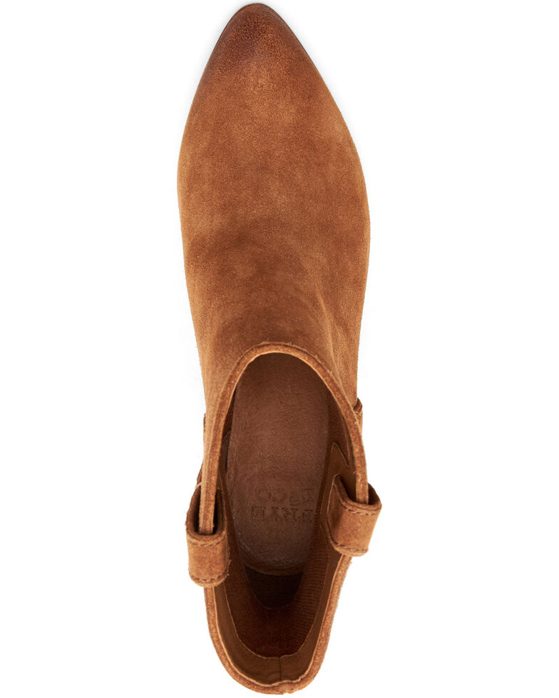 Frye & Co. Women's Maley Fashion Booties - Pointed Toe, Cognac, hi-res